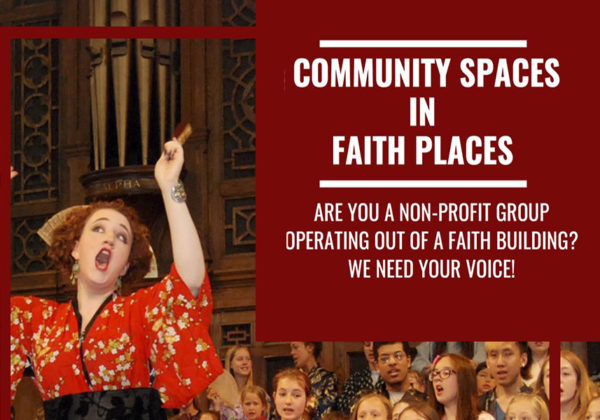 SURVEY: Community Spaces in Faith Places
