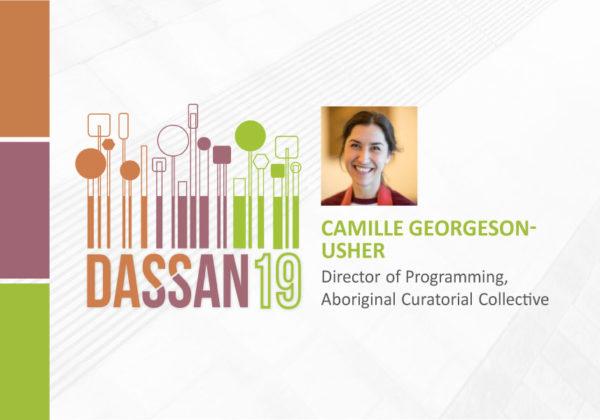 DASSAN19: Camille Georgeson-Usher (Video)
