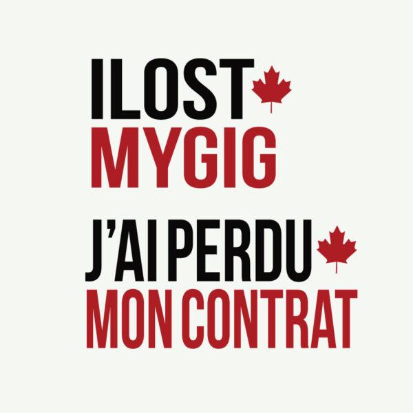 I Lost My Gig Canada
