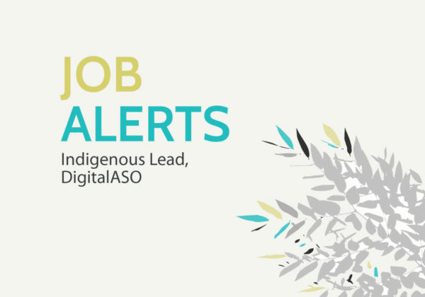 Jobs: Indigenous Lead, DigitalASO