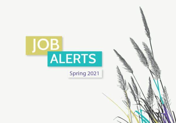 Job Alerts (Spring 2021)